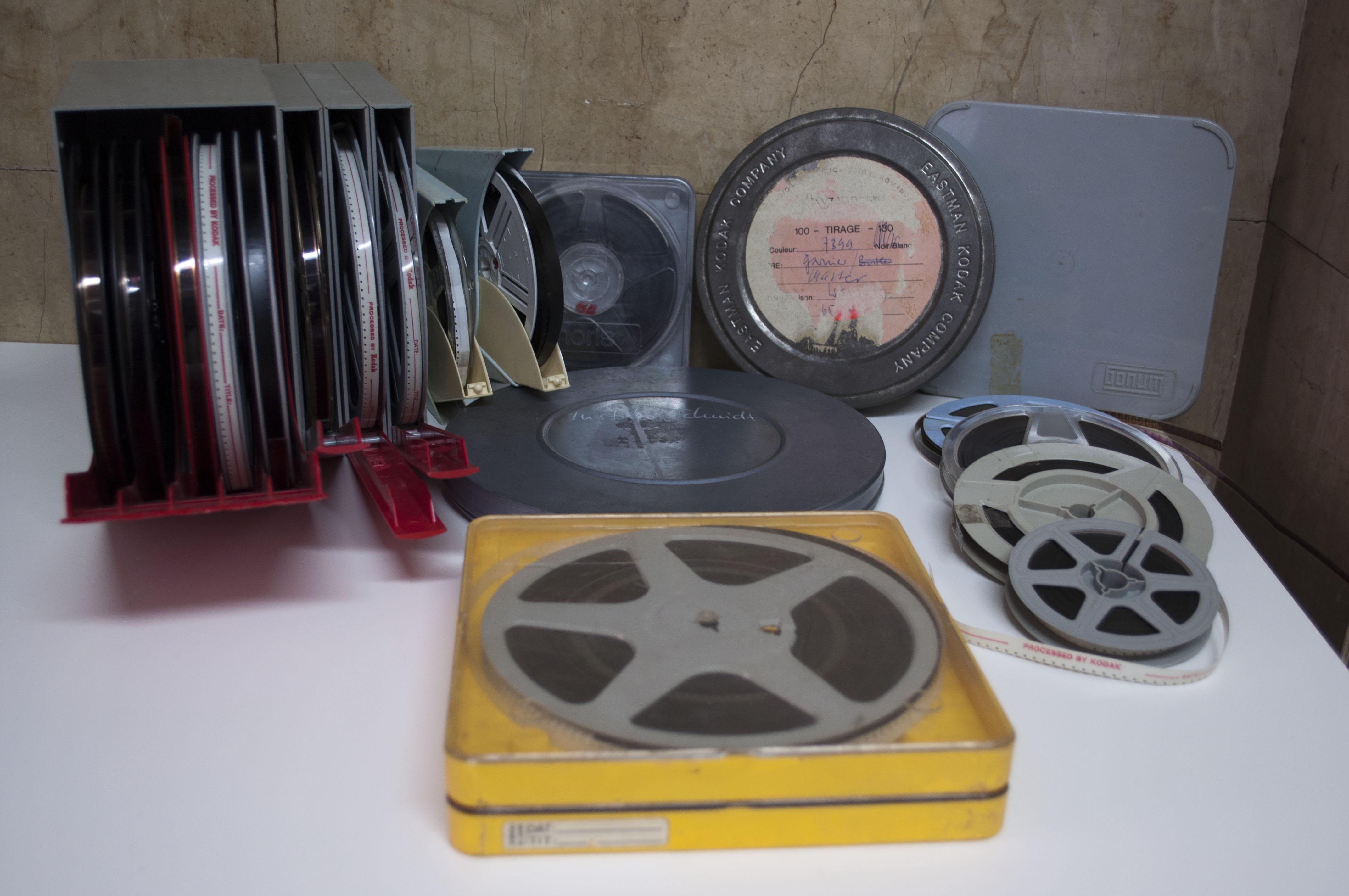 Transfer 8mm, Super 8, 16mm film to digital format
