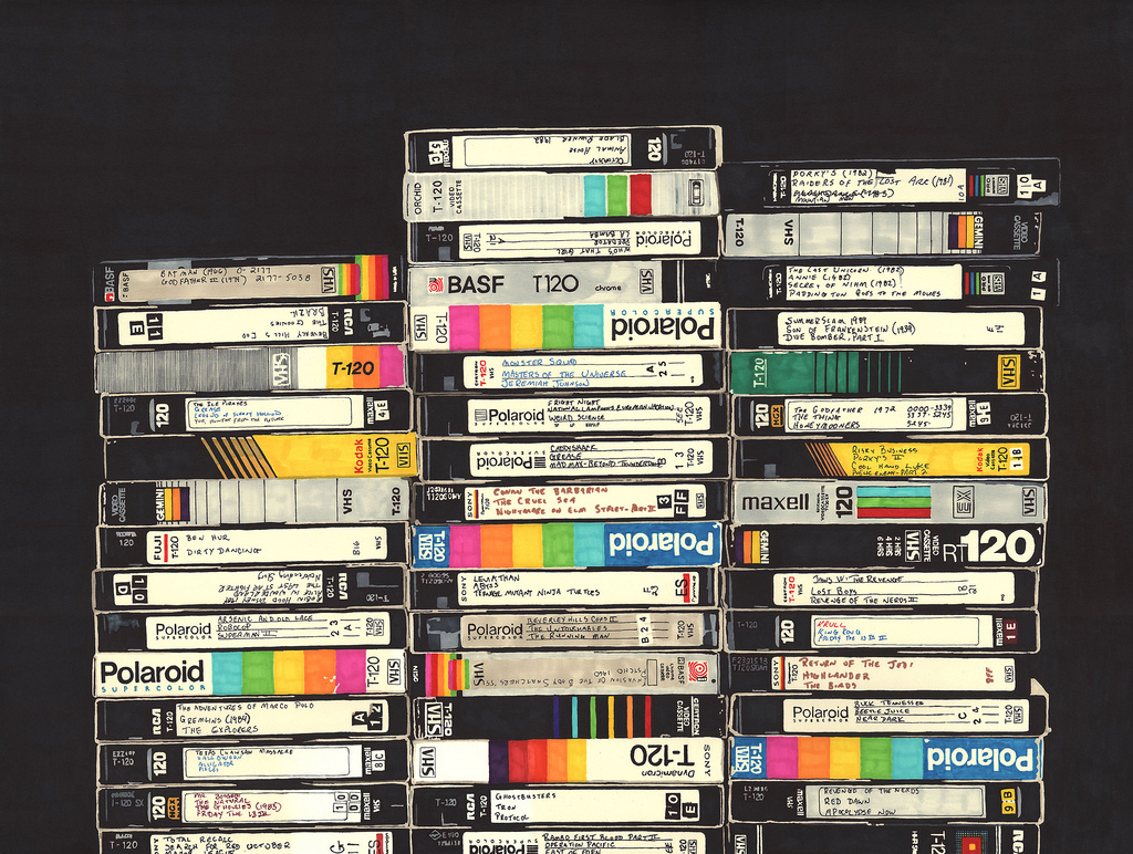 Transfer Tape Video-8, hi-8, VHS, (S) VHS (S) VHS-C, mini-DV, Digital-8, U-matic, Betamax, Betacam SP to Digital