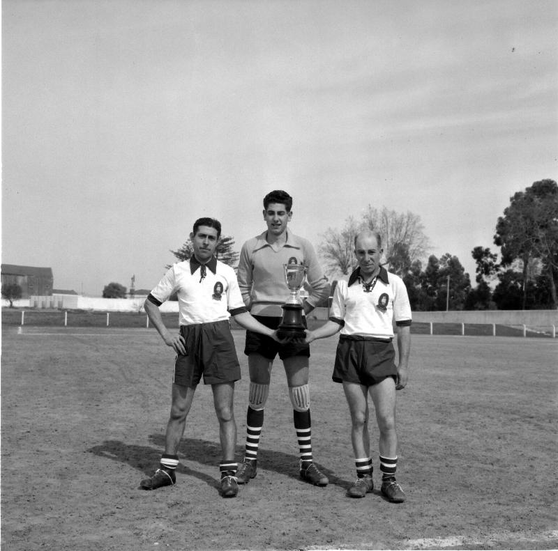 Soccer game, Casa Pia, 1958 [LPB180420140025]